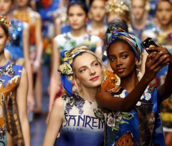 dolce e gabbana milano fashion week 2015