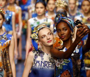 dolce e gabbana milano fashion week 2015