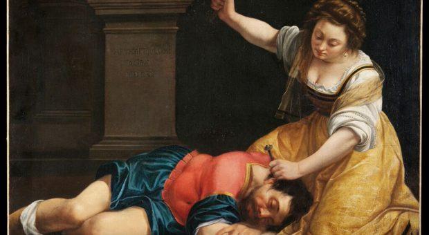 Artemisia Gentileschi-Giaele e Sisara