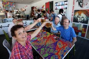 Expo 2015 festa birra tavolo