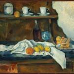 Paul Cézanne-Il Buffet