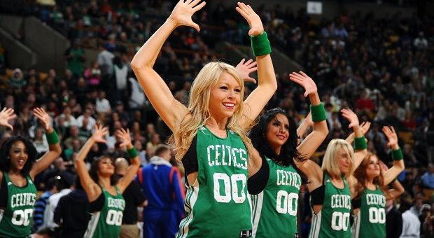 Celtics Dancers 2 - NBAE Getty Images
