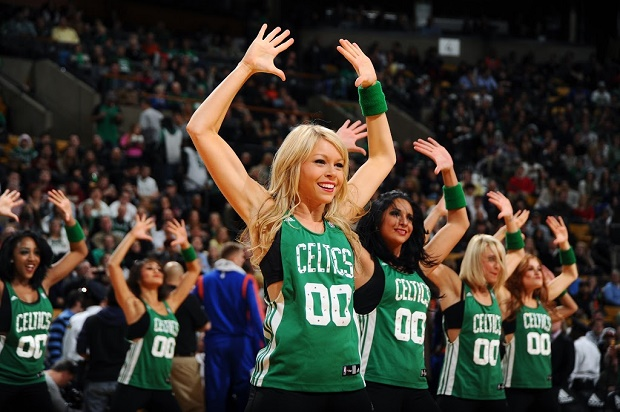 Celtics Dancers 2 - NBAE Getty Images