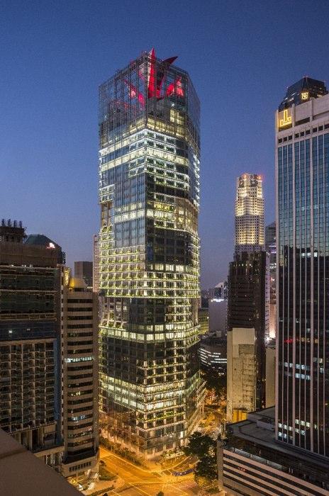 Best Tall Building 2015 Singapore Asia Australia