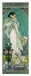 Mucha - 03. Sarah Bernhardt