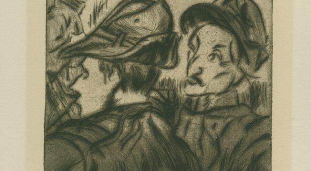 Anselmo Bucci. Guerra 1915. Alpini, 1915 - Copia