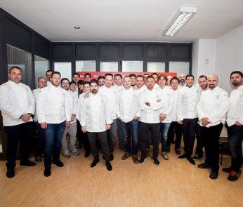 chef Guida Michelin Italia 2016 foto di gruppo