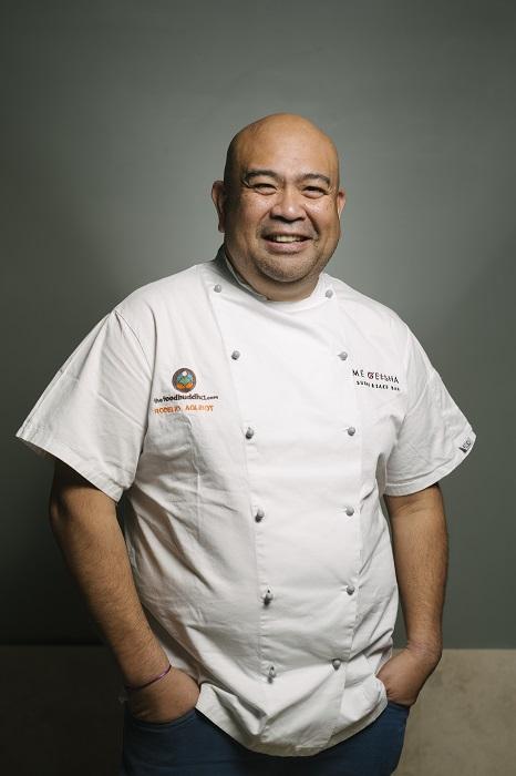 Me Geisha Roma chef Rodelio Aglibot The Food Buddha