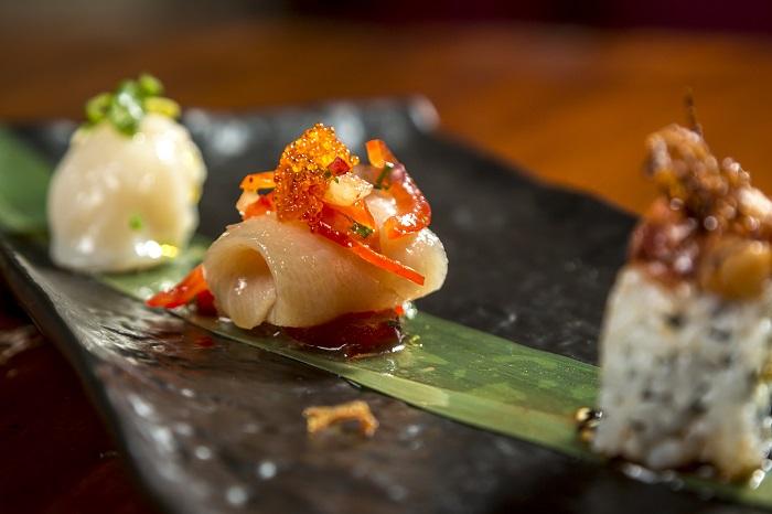 Me Geisha Roma sushi trio