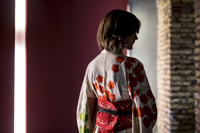 Me Geisha Roma kimono