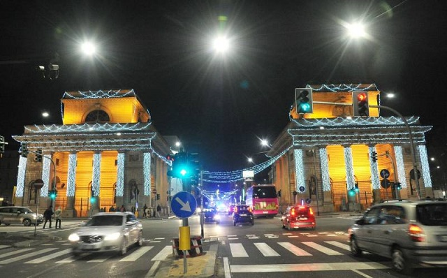 Yellow christmas milano luci natalizie in porta venezia - Cinema porta venezia milano ...