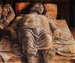 Andrea Mantegna - Il Cristo morto