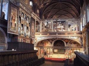 Bernardino Luini - ciclo di affreschi presso San Maurizio al Monastero Maggiore