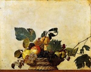 Caravaggio - Il cesto di frutta
