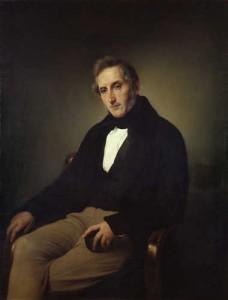 Francesco Hayez - Ritratto di Manzoni