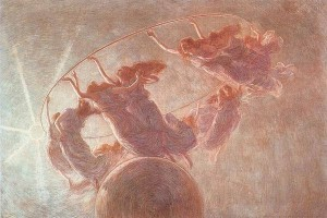 Gaetano Previati - La danza delle ore