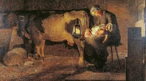 Giovanni Segantini - Le due madri