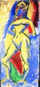 Pablo Picasso - Femme nue