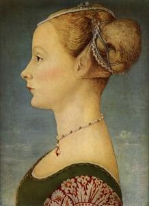 Piero del Pollaiolo - Ritratto di giovane dama