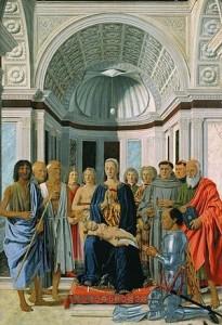 Piero della Francesca - La pala di Montefeltro