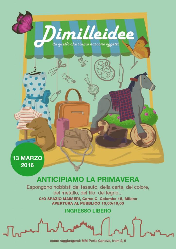 locandina Dimilleidee 13 marzo