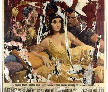 Mimmo Rotella cinema Cleopatra mostra Locarno