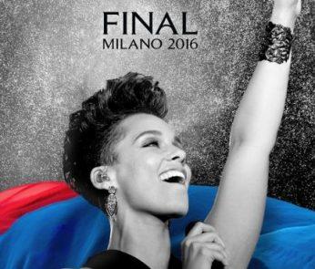 Finale Champions League Milano Alicia Keys