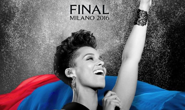 Finale Champions League Milano Alicia Keys