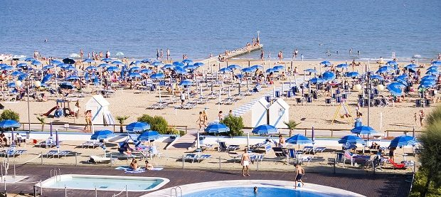 Jesolo spiaggia foto Annia316 Wikipedia