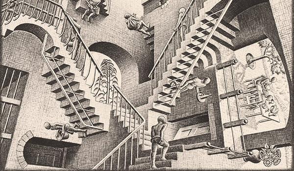 Mostra Escher Milano