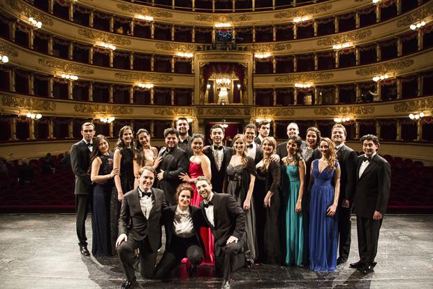 Allievi Accademia di perfezionamento per cantanti lirici del Teatro alla Scala, foto di Rudy Amisano -® Teatro alla Scala-