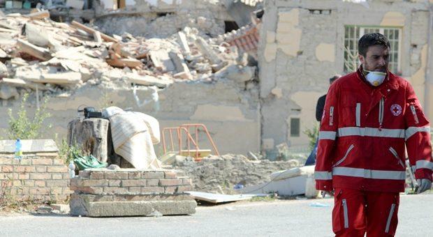 Terremoto Croce Rossa Italiana