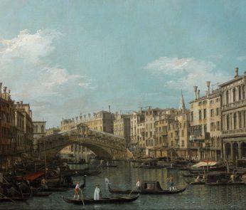 Il Canal Grande con il Ponte di Rialto da sud, Venezia © Culturespaces-Musée Jacquemart-André