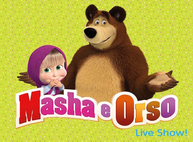 musical masha e orso milano