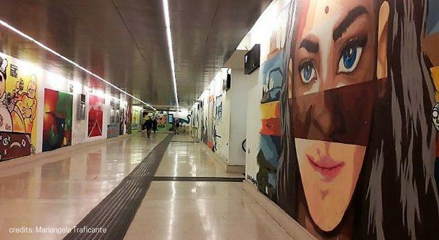 street art a Milano stazione Garibaldi