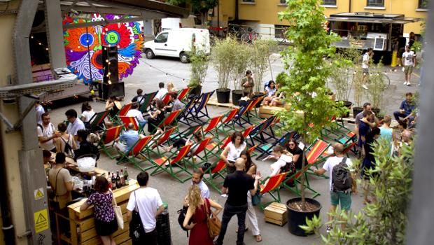 Stabilimento estivo Base Milano programma