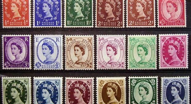 The Stamps of the Queen