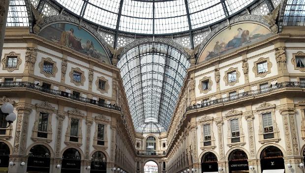 galleria vittorio emanuele milano 150 anni
