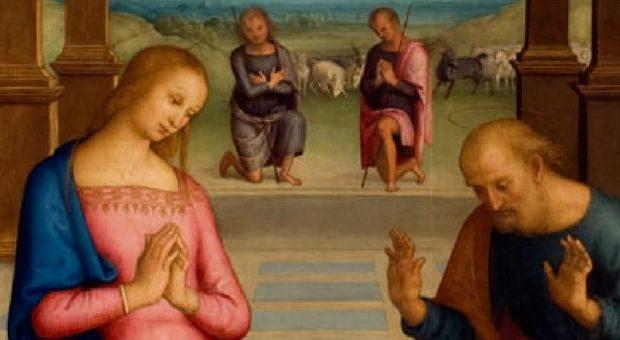 adorazione pastori perugino milano