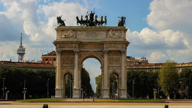 Arco della Pace visite