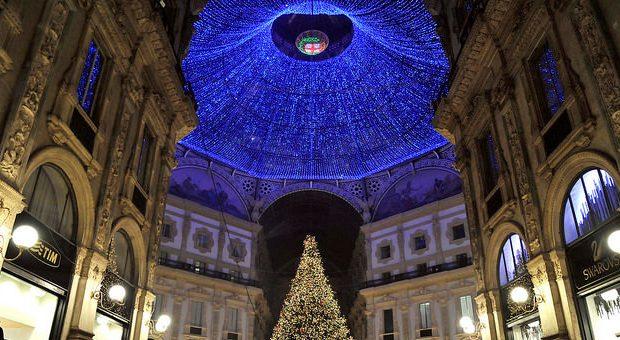 luminarie milano natale 2017