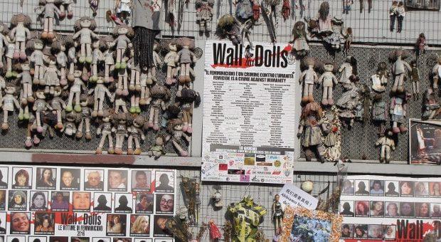 wall of dolls milano