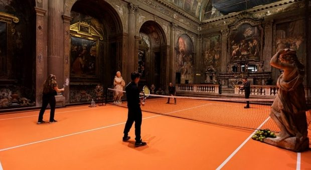 tennis chiesa sconsacrata