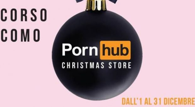 pornhub temporary store natalizio