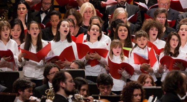 concerto di voci bianche auditorium