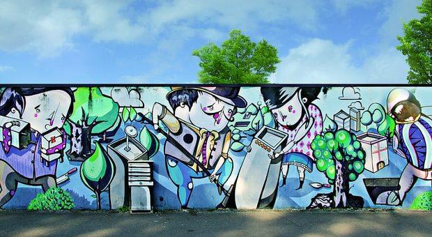 street art milano maua