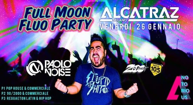 Full Moon Fluo Party Alcatraz