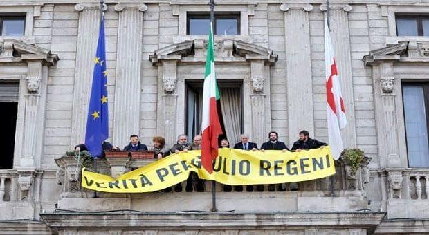 Fiaccolata per Giulio Regeni a Milano