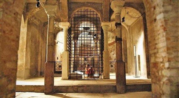 Bill Viola Cripta San Sepolcro