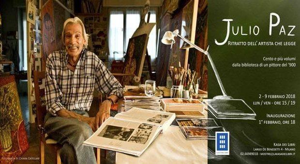 Kasa dei Libri di Milano mostra Julio Paz